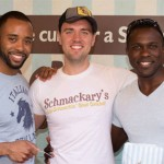 Broadway Bakes 2014 - James Brown III - Zach - Joshua Henry