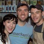 Broadway Bakes 2014 - Lena Hall - Brian J Smith - Zach Schmahl