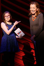 Bebe Wood and Julie White at Broadway Backwards 2014