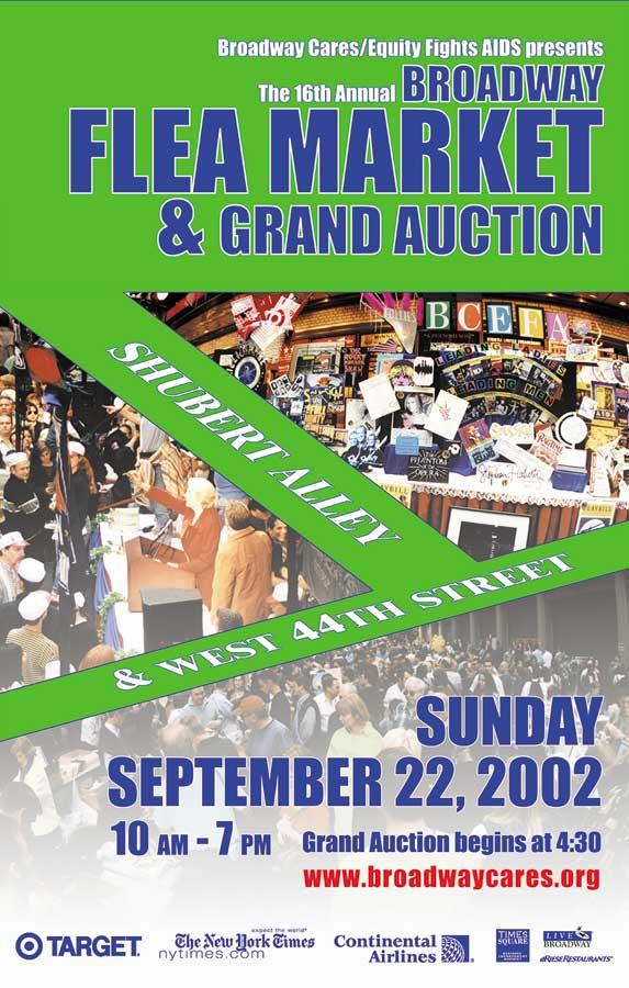 22nd Annual Broadway Flea Market Presented in Shubert ...