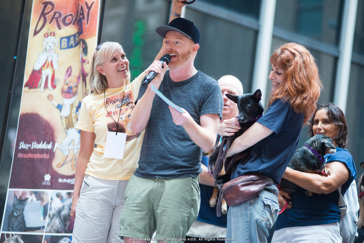 Passing Showers Don't Dampen 2016 Edition of Broadway Barks