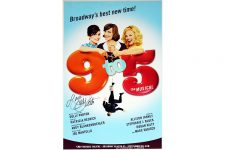 Broadway 9to5 Dolly Parton Signed Poster