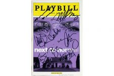 NEXT TO NORMAL Cast plus Mazzie, Massey Signed Playbill
