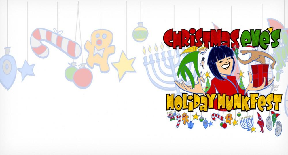 Christmas Eves Holiday Hunkfest Hero