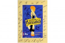 Chita Rivera and STARS Signed BROADWAY BACKWARDS Poster