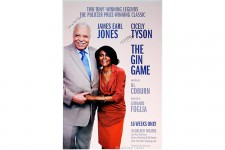 THE GIN GAME Cicely Tyson & James Earl Jones Signed Poster