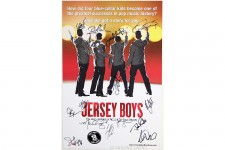 JERSEY BOYS 2015 Broadway Cast Signed Poster