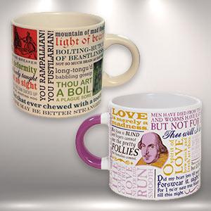 Shakespeare mugs
