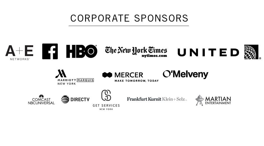Broadway Backwards 2017 Sponsors