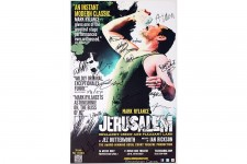 Cast Mark Rylance Signed JERUSALEM Poster
