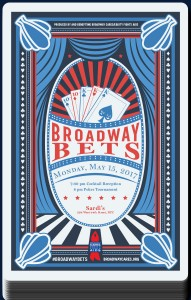 Broadway Bets 2017 Poster