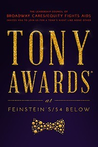 Tony Awards At Feinstein's 54 Below 2017 Poster
