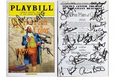 FREE MAN OF COLOR Cast Guare Jeffrey Wright Signed Playbill