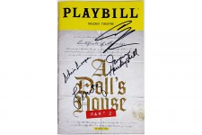 A DOLL'S HOUSE PART 2 Full Cast Metcalf Signed Playbill