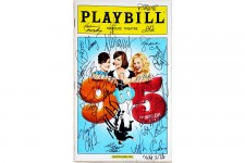 9 TO 5 Cast - Janney, Hilty, Block, Signed Playbill