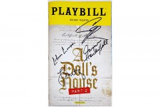 DOLLS HOUSE PT 2 Full Cast Cooper Metcalf Signed Playbill