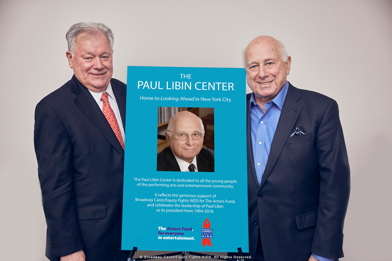 Board of Trustees - Robert E. Wankel - Paul Libin - February 2018 - photo by Eric Tronolone
