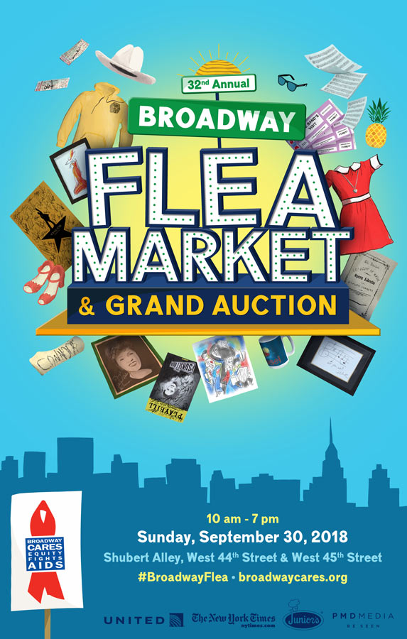 Broadway Flea Market & Grand Auction – Broadway Cares/Equity