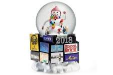 Broadway Cares Collection 2018 Snow Globe