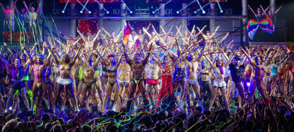 Broadway Bares 2019 finale