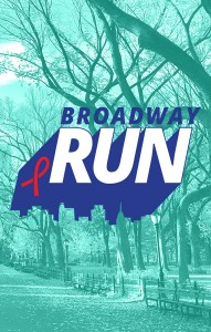 Broadway Run 2018 poster